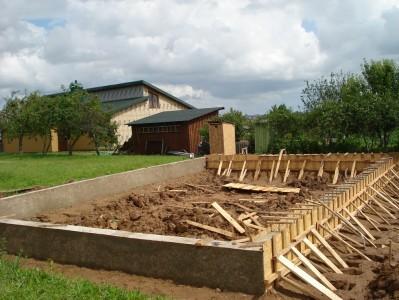 Antra pusė paruošta betonavimui